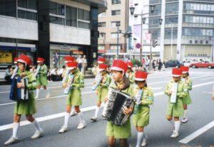 小学生 交通少年団鼓笛隊